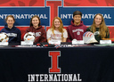 International Holds College Signing Night for Student-Athletes