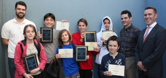 Math Contest Awards