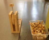 Catapult made in design lab